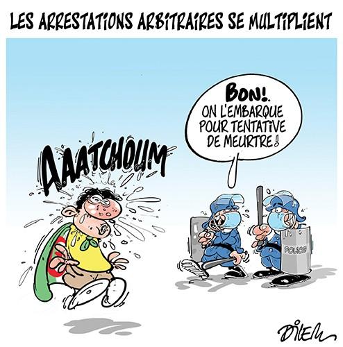 Les arrestations arbitraires se multiplient - Dilem - Liberté - Gagdz.com