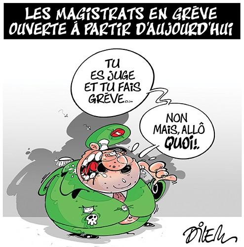 Les magistrats en grève ouverte à partir d'aujourd'hui - Dilem - Liberté - Gagdz.com