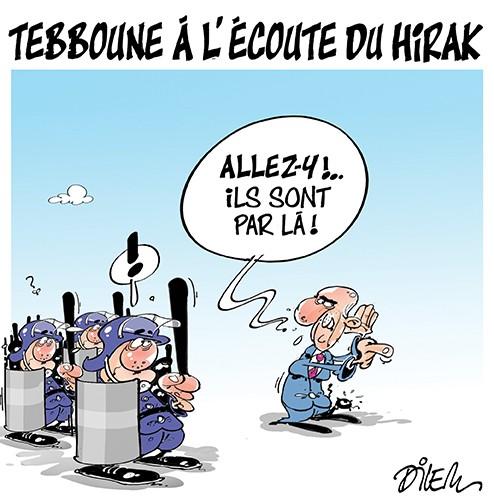 Tebboune à l'écoute du hirak - Dilem - Liberté - Gagdz.com