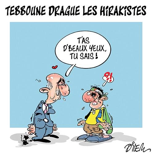 Tebboune drague les hirakistes - Dilem - Liberté - Gagdz.com