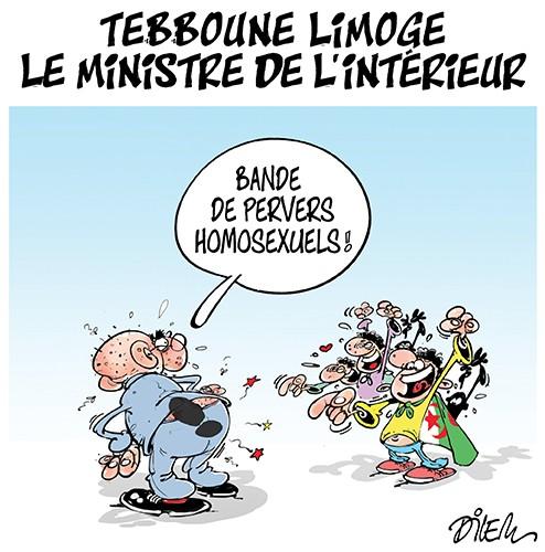 Tebboune limoge le ministre de l'intérieur - Dilem - Liberté - Gagdz.com