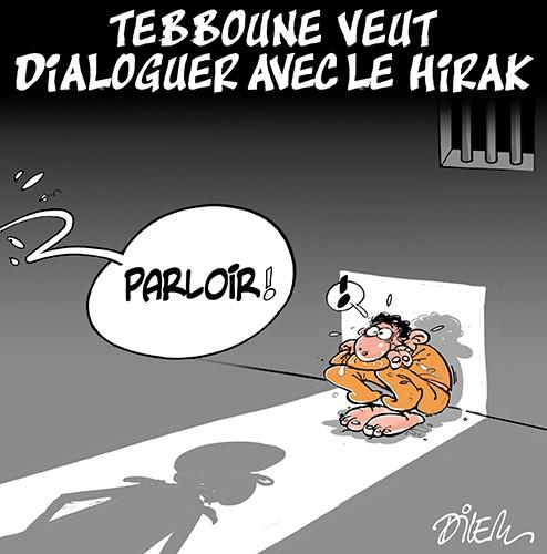 Tebboune veut dialoguer avec le hirak - Dilem - Liberté - Gagdz.com