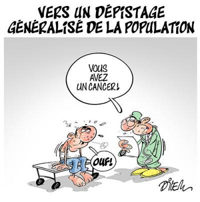 Vers un dépistage généralisé de la population - Dilem - TV5 - Gagdz.com