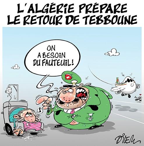 L'Algérie prépare le retour de Tebboune - Dilem - Liberté - Gagdz.com